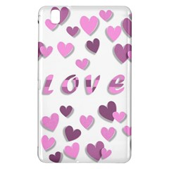 Love Valentine S Day 3d Fabric Samsung Galaxy Tab Pro 8.4 Hardshell Case