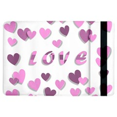 Love Valentine S Day 3d Fabric iPad Air 2 Flip