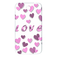 Love Valentine S Day 3d Fabric Samsung Galaxy Mega I9200 Hardshell Back Case