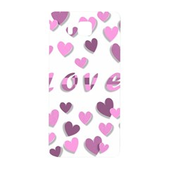 Love Valentine S Day 3d Fabric Samsung Galaxy Alpha Hardshell Back Case