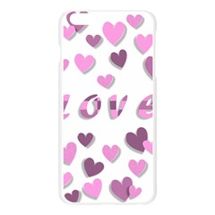 Love Valentine S Day 3d Fabric Apple Seamless iPhone 6 Plus/6S Plus Case (Transparent)