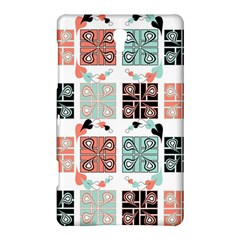 Mint Black Coral Heart Paisley Samsung Galaxy Tab S (8.4 ) Hardshell Case