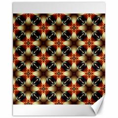 Kaleidoscope Image Background Canvas 11  x 14