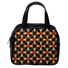 Kaleidoscope Image Background Classic Handbags (One Side)