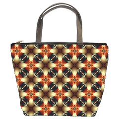 Kaleidoscope Image Background Bucket Bags
