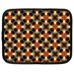 Kaleidoscope Image Background Netbook Case (XL)