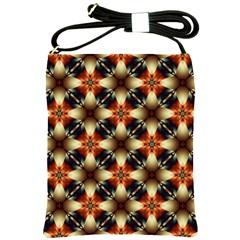 Kaleidoscope Image Background Shoulder Sling Bags