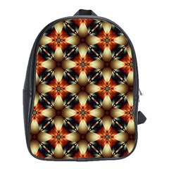 Kaleidoscope Image Background School Bags (XL)