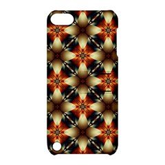 Kaleidoscope Image Background Apple iPod Touch 5 Hardshell Case with Stand