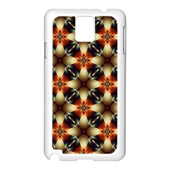 Kaleidoscope Image Background Samsung Galaxy Note 3 N9005 Case (White)