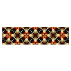 Kaleidoscope Image Background Satin Scarf (Oblong)
