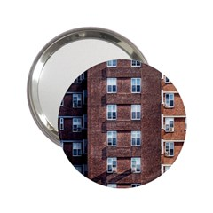 New York Building Windows Manhattan 2.25  Handbag Mirrors