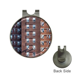 New York Building Windows Manhattan Hat Clips with Golf Markers