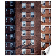 New York Building Windows Manhattan Canvas 8  x 10