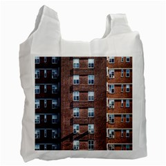 New York Building Windows Manhattan Recycle Bag (Two Side)