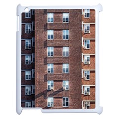 New York Building Windows Manhattan Apple iPad 2 Case (White)