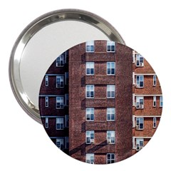 New York Building Windows Manhattan 3  Handbag Mirrors
