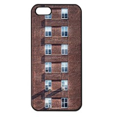 New York Building Windows Manhattan Apple iPhone 5 Seamless Case (Black)