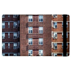 New York Building Windows Manhattan Apple iPad 3/4 Flip Case