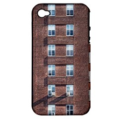 New York Building Windows Manhattan Apple iPhone 4/4S Hardshell Case (PC+Silicone)