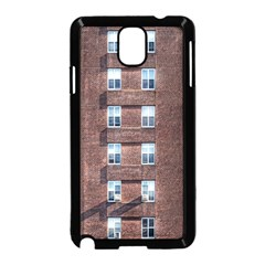 New York Building Windows Manhattan Samsung Galaxy Note 3 Neo Hardshell Case (Black)