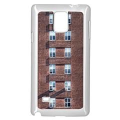 New York Building Windows Manhattan Samsung Galaxy Note 4 Case (White)