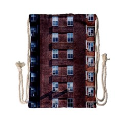 New York Building Windows Manhattan Drawstring Bag (Small)