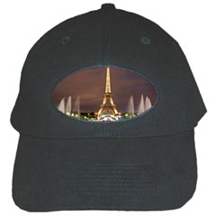 Paris Eiffel Tower Black Cap