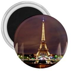 Paris Eiffel Tower 3  Magnets