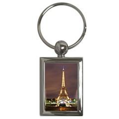 Paris Eiffel Tower Key Chains (Rectangle)