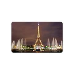 Paris Eiffel Tower Magnet (name Card)