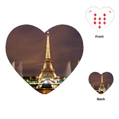 Paris Eiffel Tower Playing Cards (Heart)