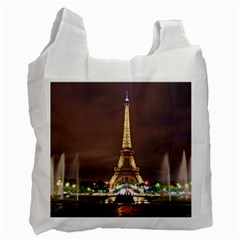 Paris Eiffel Tower Recycle Bag (One Side)
