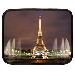 Paris Eiffel Tower Netbook Case (XXL)
