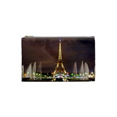 Paris Eiffel Tower Cosmetic Bag (Small)