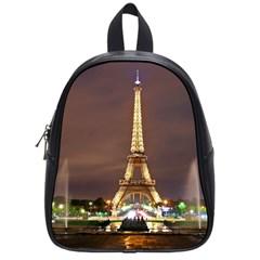 Paris Eiffel Tower School Bags (Small)