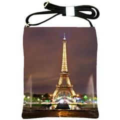 Paris Eiffel Tower Shoulder Sling Bags