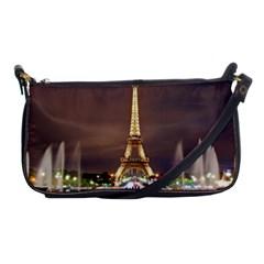 Paris Eiffel Tower Shoulder Clutch Bags