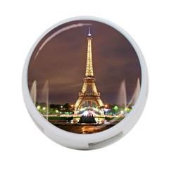 Paris Eiffel Tower 4-Port USB Hub (Two Sides)