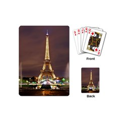 Paris Eiffel Tower Playing Cards (Mini)