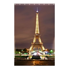 Paris Eiffel Tower Shower Curtain 48  x 72  (Small)