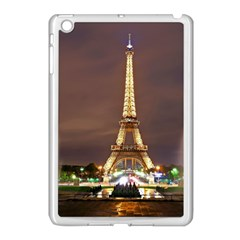 Paris Eiffel Tower Apple iPad Mini Case (White)