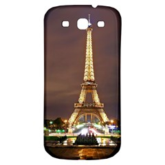 Paris Eiffel Tower Samsung Galaxy S3 S III Classic Hardshell Back Case