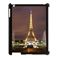 Paris Eiffel Tower Apple iPad 3/4 Case (Black)