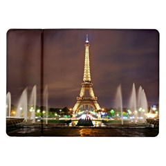 Paris Eiffel Tower Samsung Galaxy Tab 10.1  P7500 Flip Case