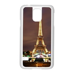 Paris Eiffel Tower Samsung Galaxy S5 Case (white)