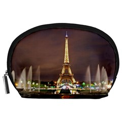 Paris Eiffel Tower Accessory Pouches (large)