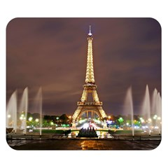 Paris Eiffel Tower Double Sided Flano Blanket (small)
