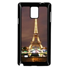 Paris Eiffel Tower Samsung Galaxy Note 4 Case (Black)