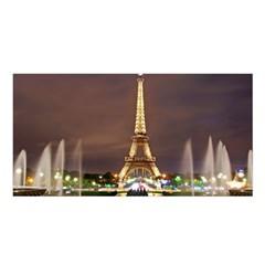 Paris Eiffel Tower Satin Shawl